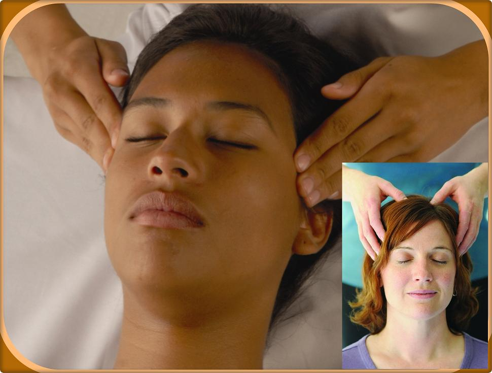 Indian Head massage  - Scalp Massage for headaches and migraines