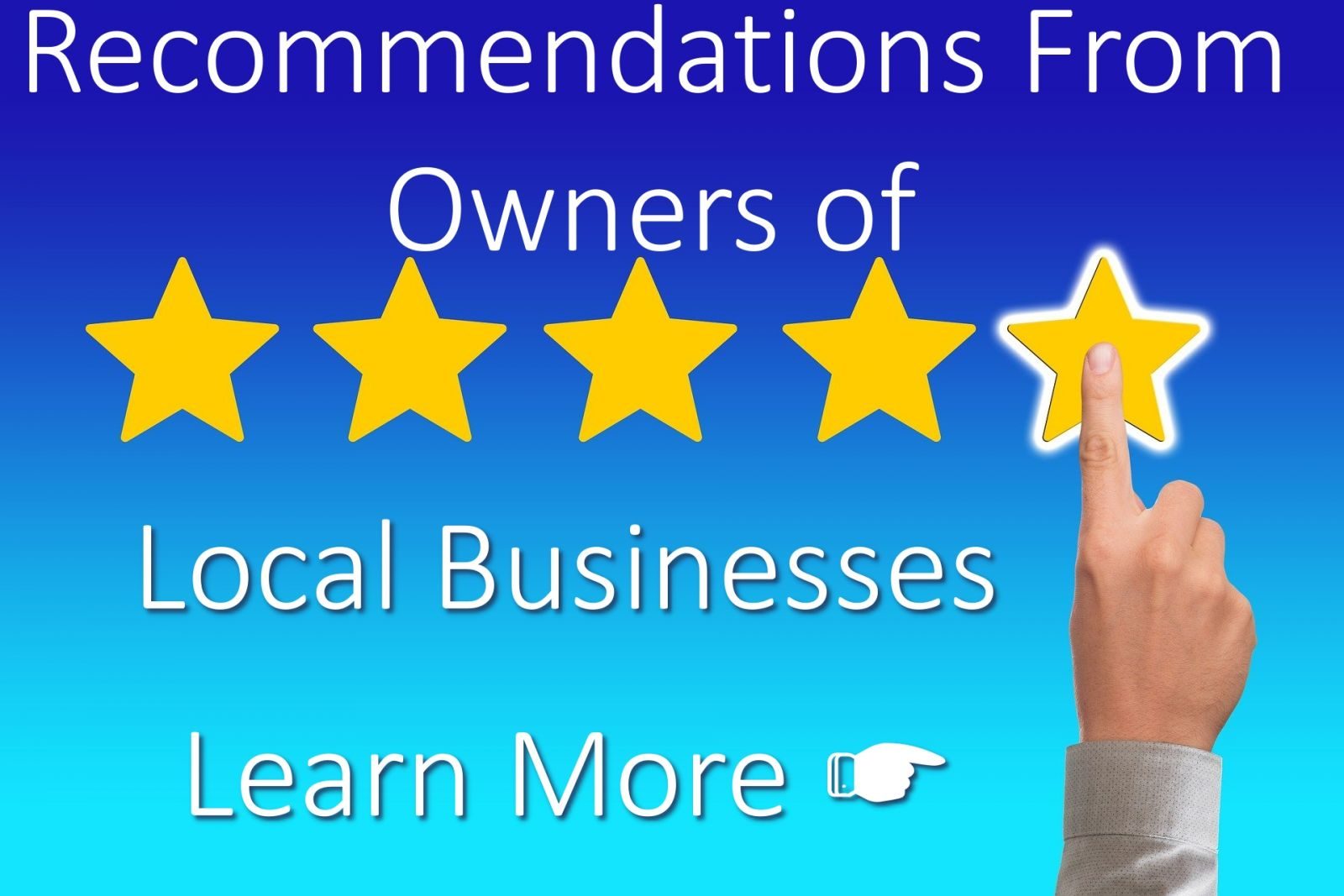 Reviews & Recommendations from Local Business Owners
