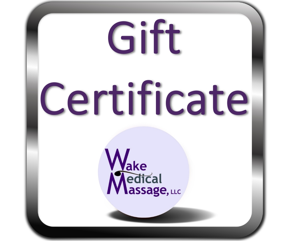 Gift Certificate - A perfect gift for every body!